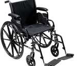 Tracer III Wheelchair -  Adjustable seat rail extension and extendable upholstery e