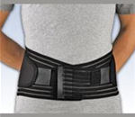 "FLA ProLite® 9"" Neoprene Lumbar Sacral Support - The Neoprene Lumbar Sacral Support provides compression to the l"