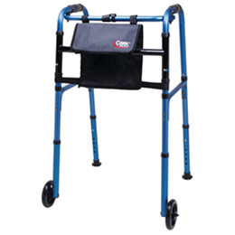 "Carex Health Brands :: Carex Explorer Walker with 5"" Wheels"