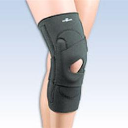 "FLA Orthopedics Inc. :: Safe-T-Sport® Lateral Knee Stabilizer with ""J"" Shaped Buttress Series 37-250XXX (Right) Series 37-25"