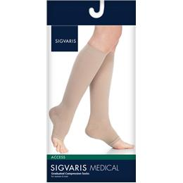 Image of SIGVARIS Access 30-40mmHg - Size: ML - Color: BLACK