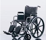 Wheelchair / Manual :: Medline :: WHEELCHAIR EXCEL MDS806100 NAVY UPHOL