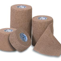 "Image of BANDAGE COFLEX MED 3""X5 YD YELLOW NS"