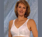 Airway Bra - Front hook bras fashioned with lace. Drop-in pocket for easy acc