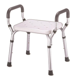 Essential Medical Supply :: Deluxe Shower Bench w/Padded Arms