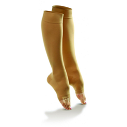 Dr. Comfort :: Sheer Comfort Open Toe Hosiery for Women (20-30)