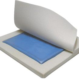 "Image of Skin Protection Gel ""E"" 3"" Wheelchair Seat Cushion"
