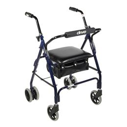 Drive Medical :: Mimi Lite Push Brake Walker Rollator