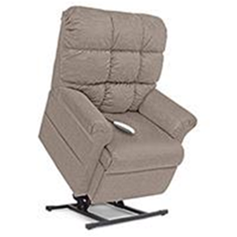 Image of Elegance Collection, 3 Position, Full Recline, Chaise Lounger Lift Chair, LC-485 2