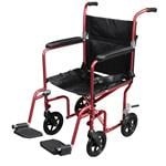 Flyweight Lightweight Transport Wheelchair With Removable Wheels - Product Description</SPAN