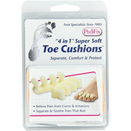 4 in 1 Super Soft Toe Cushions