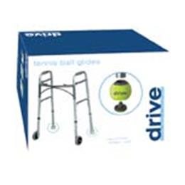 Drive Medical :: Tennis Ball Glides (2) Deluxe w/ 2 Replacement Glide Pads