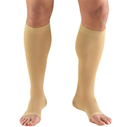 "Airway Surgical :: 0865S TRUFORM Classic Compression Ladies' Below Knee, Open Toe, Short (15"") Stocking"