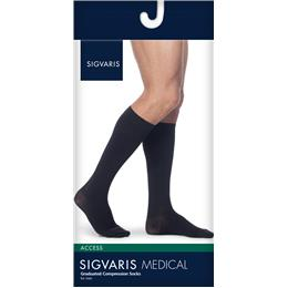 Image of SIGVARIS Access 30-40mmHg - Size: XS - Color: BLACK