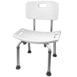 Roscoe Medical :: Roscoe Shower Chair with Back