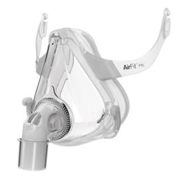 Image of AirFit™ F10 full face mask frame system with small cushion – no headgear