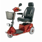Merits Pioneer 3, 3 Wheel Electric Scooter - Techincal Specs: