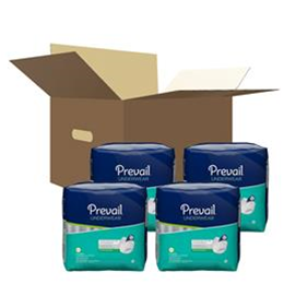 "First Quality :: Prevail Maximum Absorbency Underwear:  2x- Large (68""to 80"") 4 bags of 12 (48ct.)"