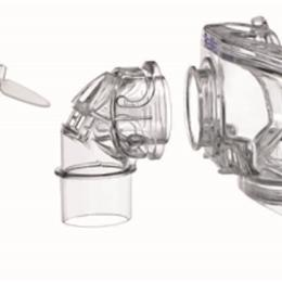 ResMed :: Mirage Liberty™ full face mask complete frame assembly, small – no cushion, no pillows, no headgear