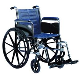 Wheelchairs :: Generic  :: Wheelchair: Lightweight with footplates