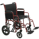 BARIATRIC STEEL TRANSPORT CHAIR - Product Summary