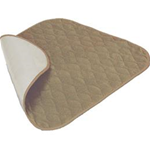 Velour Chair Pad, Brown