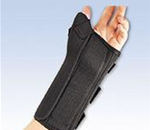 FLA ProLite Wrist Brace with Abducted Thumb - Immobilizes the wrist and/or thumb. Patented design prevents fle
