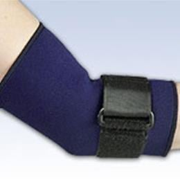 FLA Orthopedics Inc. :: Safe-T-Sport® Neoprene Elbow Sleeve with Loop Lock Series 19-601XXX