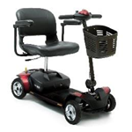Active/Rehab :: Pride Mobility :: Go Go Elite Traveller 4 Wheel