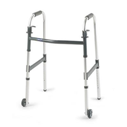 "Image of Invacare I-Class Junior Paddle Walker - 3"" Fixed Wheels"