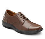 Captain :: Classic lightweight dress shoe. Traditional Cap-toe design prese