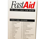 Fast Aid First Aid Guide - These easy to read guides show how to treat most common minor