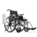 "Invacare Insignia 16"" x 16"" Frame w/Convertible, Adj Height Arms Footrests and Urethane Tires Wheelc - The Invacare Insignia Whee"