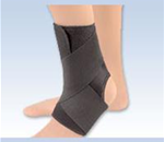 FLA EZ-ON Wrap Around Ankle Support - This wrap around ankle support provides excellent compression an