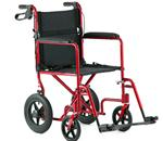 Wheelchair / Manual - Invacare - Aluminum Transport Chair