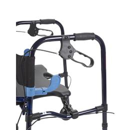 "Image of Clever Lite Rollator Junior Walker With 5"" Casters 5"