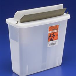 Medline :: CONTAINER SHARPS 5QT CLEAR