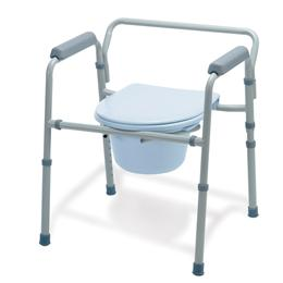 Image of COMMODE EZ-CARE STEEL CHROME EACH