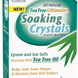 Pedifix :: Tea Tree Ultimates Soothing Crystals 1 oz packets 6/Pkg