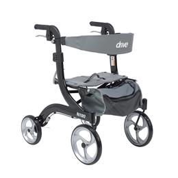 Drive Medical :: Nitro Euro Style Walker Rollator, Hemi Height