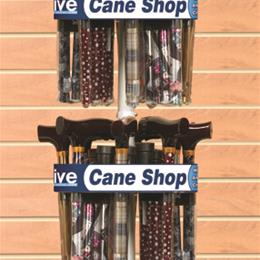 Drive Medical :: Rotating Cane Rack Holds 16 Folding Canes