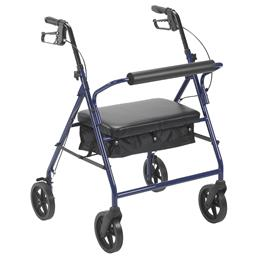 "Drive Medical :: Bariatric Rollator with 8"" Wheels"
