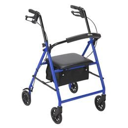"Drive Medical :: Rollator with 6"" Wheels"