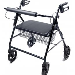 Image of Walkabout Four-Wheel Bariatric Rollator 2