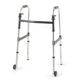 "Invacare :: C Frame Walker Adult - 3"" Fixed Wheels"