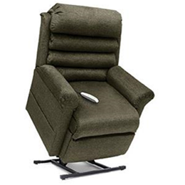 Pride Mobility Products :: Elegance Collection, 3 Position, Full Recline, Chaise Lounger Lift Chair, LC-470M