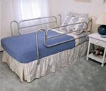 Carex Home-Style Bedrails - These rails are designed for use on standard home beds.