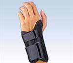 "FLA ProLite Low Profile Wrist Splint, 6"" - Provides stabilization to weak or injured wrists in a low-profil"