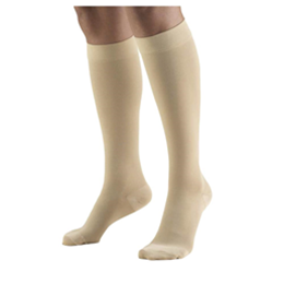Image of 8865 TRUFORM Classic Compression Ladies' Below Knee, Closed Toe, Stay-Up, Stocking 2