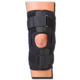 "Professional Orthopedic Products :: Gripper™ Hinged Knee Brace - 12"" CoolFlex™"